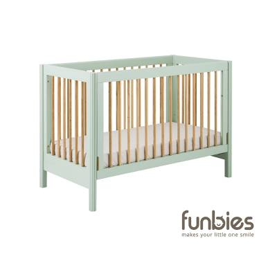 Clover Baby Cot (Soft Green)